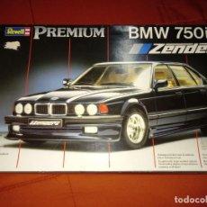 Maquetas: BMW 750IL ZENDER REVELL PREMIUM ESCALA 1/24 AÑOS 90. PERFECTO ESTADO. INENCONTRABLE!. Lote 151121946