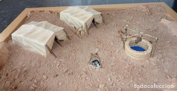 Maquetas: Desert Well & tents 1:72 ITALERI 6148 maqueta diorama carro wargame diorama - Foto 4 - 151460522