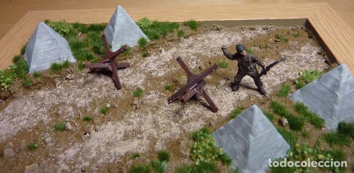 Maquetas: Anti Tank Obstacles 1:72 ITALERI 6147 maqueta diorama wargame carro - Foto 6 - 151494156