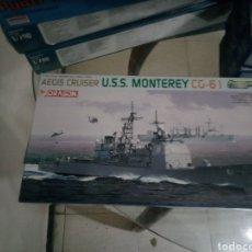 Maquetas: DRAGON USS MONTEREY. Lote 151498620