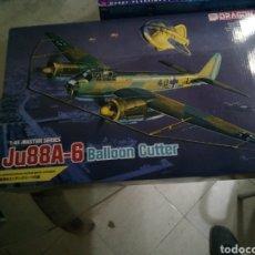 Maquetas: DRAGON 1/48 JU88A-6 BALLON CUTTER. Lote 151503428