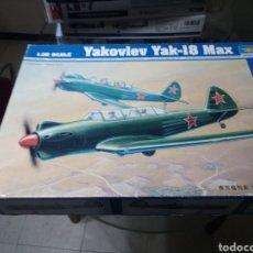 Maquetas: TRUMPETER 1/32 YUKOLEV YAK-18. Lote 151504061
