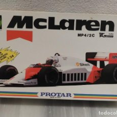 Maquetas: IMPRESIONANTE MAQUETA MCLAREN MP4/2C TAG TURBO - ESCALA 1/24 - PROTAR - 1986 - COMPLETO - NUEVO . Lote 151638410