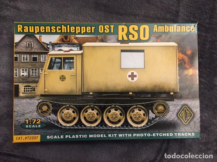 OST RSO AMBULANCE 1:72 ACE 72207 MAQUETA CARRO AMBULANCIA (Juguetes - Modelismo y Radiocontrol - Maquetas - Militar)