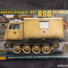 Maquetas: OST RSO AMBULANCE 1:72 ACE 72207 MAQUETA CARRO AMBULANCIA. Lote 151646597