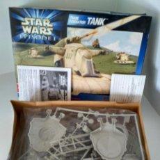 Maquetas: MAQUETA STAR WARS EPISODIO I. TRADE FEDERATION TANK. AMT AÑO 1999 EN CAJA ORIGINAL. Lote 151656422