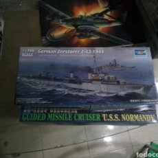 Maquetas: TRUMPETER GUIDED MISSILE U.S.S NORMANDY. Lote 151810870