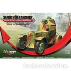 Maquetas: MIRAGE - SAMOCHOD PANCERNY WZ 34-11 ARMOURED CAR MODEL 1934 355020 1/35. Lote 151838714