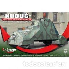 Maquetas: MIRAGE - KUBUS W 44 UPRISING ARMOPURED CAR 355026 1/35. Lote 151841034