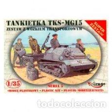 Maquetas: MIRAGE - TANKETA TKS-MG15 35515 1/35 . Lote 151841734