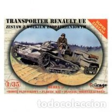 Maquetas: MIRAGE - TRANSPORTER RENAULT UE 35514 1/35. Lote 151843678