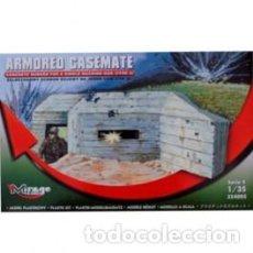 Maquetas: MIRAGE - ARMOURED CASAMATE BUNKER POR SINGLE MACHINE GUN 354005 1/35. Lote 151844850