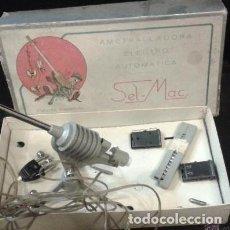 Maquetas: SEL-MAC, BARCELONA. AMETRALLADORA ELECTRO AUTOMÁTICA. CAJA: 15X26 CM. Lote 151899938