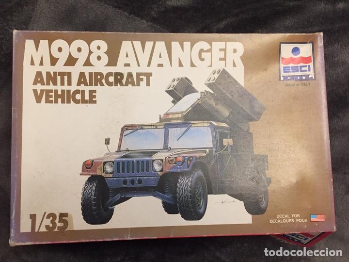 M998 AVANGER ANTI AIRCRAFT VEHICLE 1:35 ESCI/ERTL 5025 MAQUETA VEHÍCULO CARRO (Juguetes - Modelismo y Radiocontrol - Maquetas - Militar)