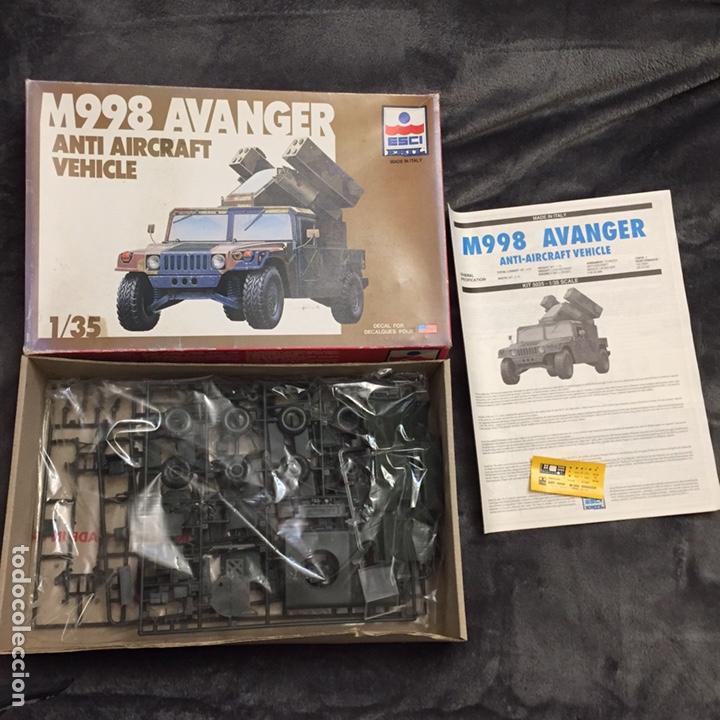Maquetas: M998 AVANGER Anti Aircraft Vehicle 1:35 ESCI/ERTL 5025 maqueta vehículo carro - Foto 2 - 151900884