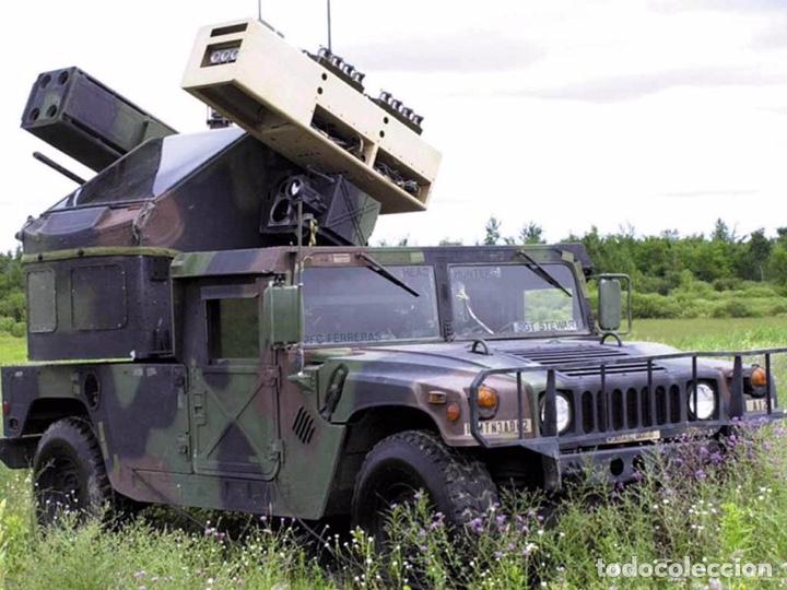 Maquetas: M998 AVANGER Anti Aircraft Vehicle 1:35 ESCI/ERTL 5025 maqueta vehículo carro - Foto 4 - 151900884