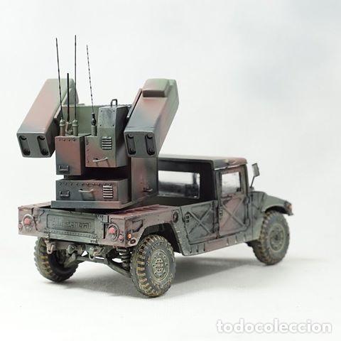 Maquetas: M998 AVANGER Anti Aircraft Vehicle 1:35 ESCI/ERTL 5025 maqueta vehículo carro - Foto 5 - 151900884