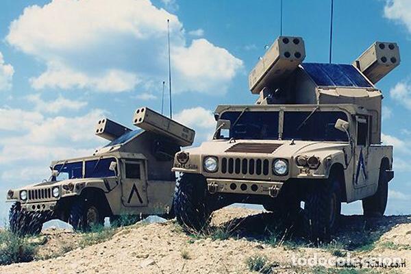 Maquetas: M998 AVANGER Anti Aircraft Vehicle 1:35 ESCI/ERTL 5025 maqueta vehículo carro - Foto 6 - 151900884
