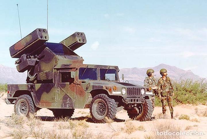 Maquetas: M998 AVANGER Anti Aircraft Vehicle 1:35 ESCI/ERTL 5025 maqueta vehículo carro - Foto 7 - 151900884