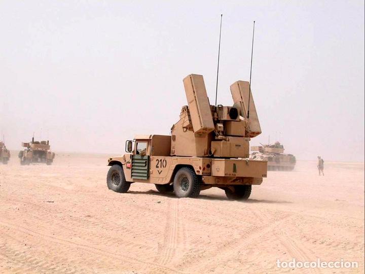 Maquetas: M998 AVANGER Anti Aircraft Vehicle 1:35 ESCI/ERTL 5025 maqueta vehículo carro - Foto 8 - 151900884