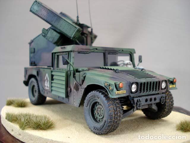 Maquetas: M998 AVANGER Anti Aircraft Vehicle 1:35 ESCI/ERTL 5025 maqueta vehículo carro - Foto 9 - 151900884