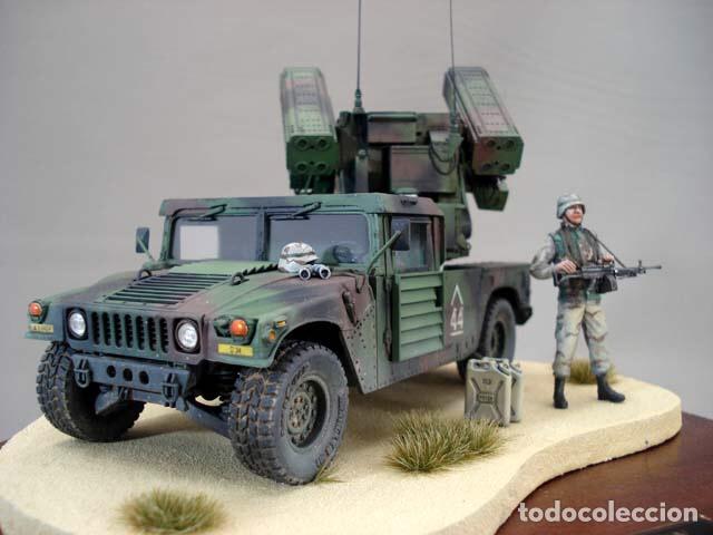 Maquetas: M998 AVANGER Anti Aircraft Vehicle 1:35 ESCI/ERTL 5025 maqueta vehículo carro - Foto 10 - 151900884
