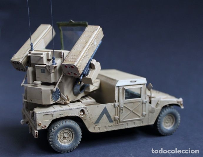 Maquetas: M998 AVANGER Anti Aircraft Vehicle 1:35 ESCI/ERTL 5025 maqueta vehículo carro - Foto 12 - 151900884