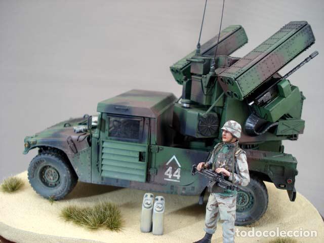 Maquetas: M998 AVANGER Anti Aircraft Vehicle 1:35 ESCI/ERTL 5025 maqueta vehículo carro - Foto 13 - 151900884