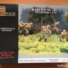 Maquetas: WAFFEN SS 1943 KURKS SET 2 1:72 PEGASUS 7202. Lote 151903505