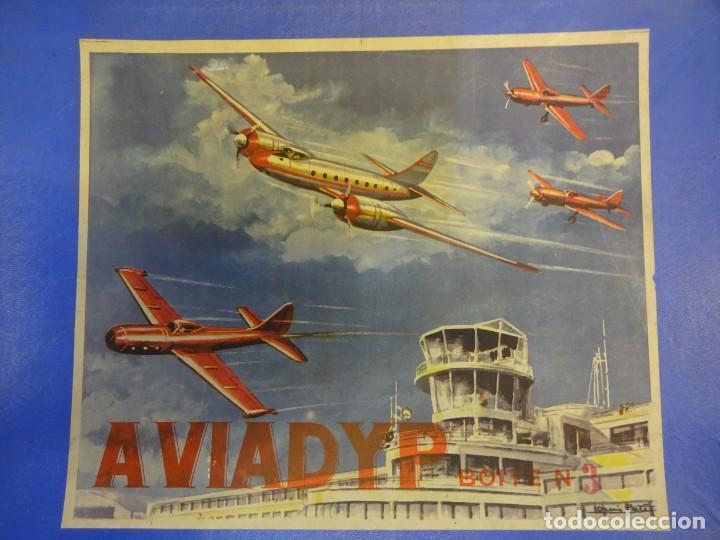 Maquetas: AVIADYP. Avion para montar. Fabricación francesa. VER FOTOS - Foto 6 - 152022658