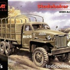 Maquetas: MAQUETA 1/35 - STUDEBAKER US 6 WWII ARMY TRUCK ICM - NR. 35511 - 1:35. Lote 152142422