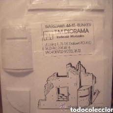 Maquettes: EDIFICIO BUNKER PARA DIORAMA 1/35 VACUFORME. Lote 152385796