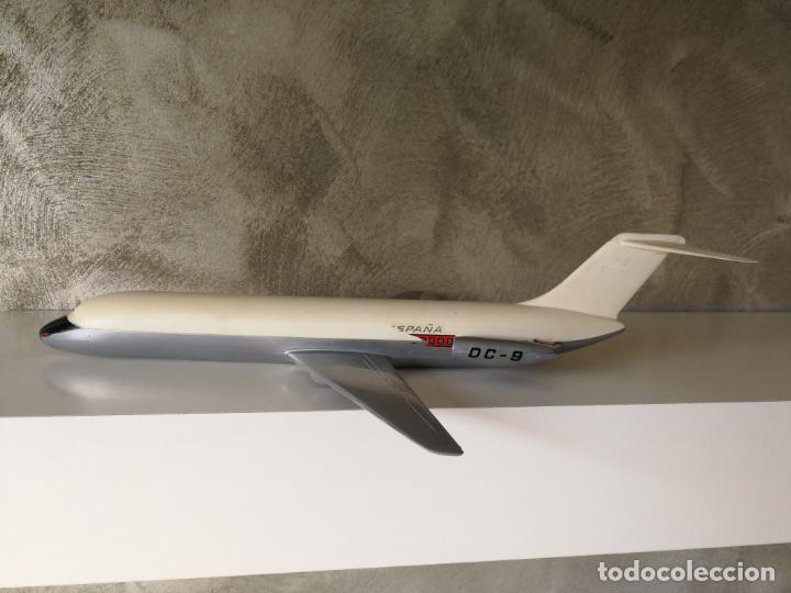 ANTIGUO AVIÓN IBERIA DC 9 PUMERSA MADE IN SPAIN (Juguetes - Modelismo y Radio Control - Maquetas - Aviones y Helicópteros)