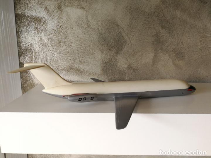 Maquetas: ANTIGUO AVIÓN IBERIA DC 9 PUMERSA MADE IN SPAIN - Foto 2 - 152636546