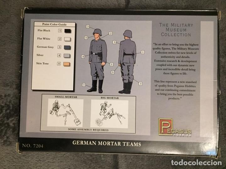 Maquetas: German Mortar Teams GRANATWERFER 1:72 PEGASUS 7204 maqueta diorama wargame - Foto 2 - 155787345