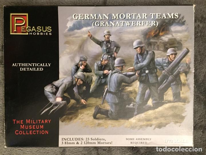 GERMAN MORTAR TEAMS GRANATWERFER 1:72 PEGASUS 7204 MAQUETA DIORAMA WARGAME (Juguetes - Modelismo y Radiocontrol - Maquetas - Militar)