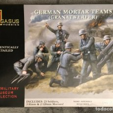 Maquetas: GERMAN MORTAR TEAMS GRANATWERFER 1:72 PEGASUS 7204 MAQUETA DIORAMA WARGAME. Lote 155787345