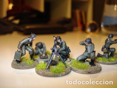 Maquetas: German Mortar Teams GRANATWERFER 1:72 PEGASUS 7204 maqueta diorama wargame - Foto 7 - 155787345