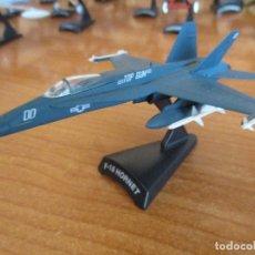 Maquettes: DEL PRADO: AVIONES EN COMBATE: MAQUETA EN METAL ESCALA 1/100 AVION: F-18 HORNET. Lote 211611961