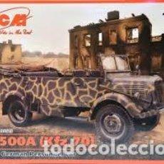 Maquetas: ICM - L 1500 A GERMAN PERSONNEL CAR 1/35 35525. Lote 153151706