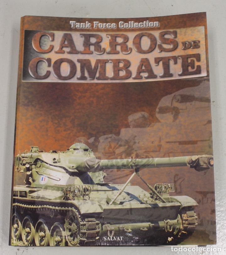 Maquetas: CARROS DE COMBATE. SALVAT 2001. LOTE DE 44 TANQUES EN PLOMO. INCOMPLETO + 1 ARCHIVADOR CON FICHAS - Foto 5 - 156054442