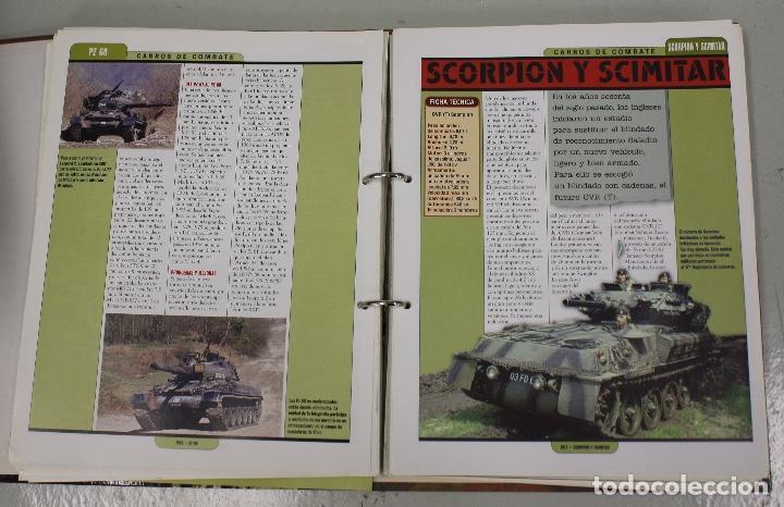 Maquetas: CARROS DE COMBATE. SALVAT 2001. LOTE DE 44 TANQUES EN PLOMO. INCOMPLETO + 1 ARCHIVADOR CON FICHAS - Foto 8 - 156054442