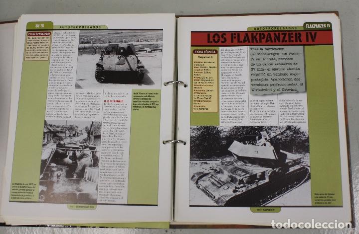 Maquetas: CARROS DE COMBATE. SALVAT 2001. LOTE DE 44 TANQUES EN PLOMO. INCOMPLETO + 1 ARCHIVADOR CON FICHAS - Foto 9 - 156054442