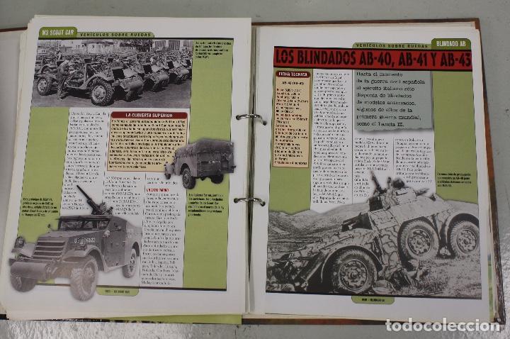 Maquetas: CARROS DE COMBATE. SALVAT 2001. LOTE DE 44 TANQUES EN PLOMO. INCOMPLETO + 1 ARCHIVADOR CON FICHAS - Foto 10 - 156054442