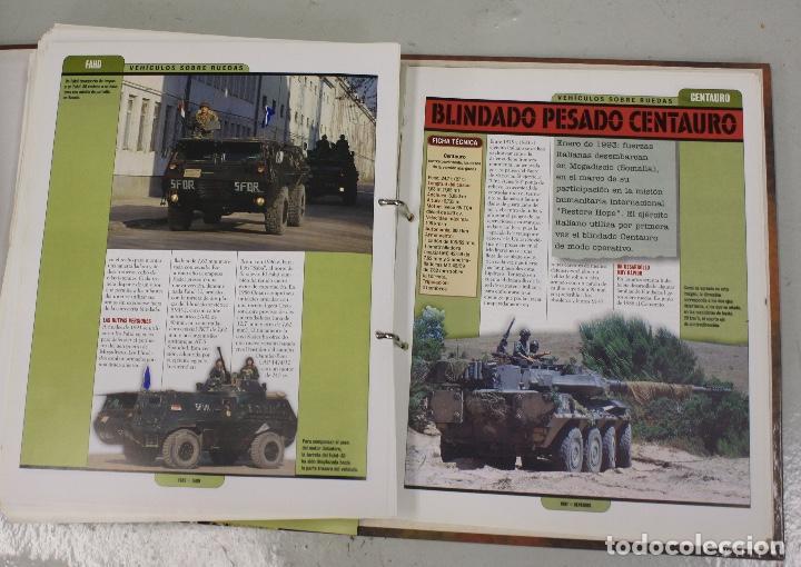 Maquetas: CARROS DE COMBATE. SALVAT 2001. LOTE DE 44 TANQUES EN PLOMO. INCOMPLETO + 1 ARCHIVADOR CON FICHAS - Foto 11 - 156054442