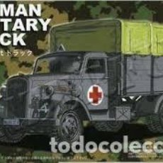 Maquetas: FUJIMI - GERMAN MILITARY TRUCK 1/72 722238. Lote 153220222