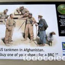 Maquetas: MB - MODERN US TANKMEN IN AFGHANISTAN 1/35 35131. Lote 153229954