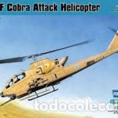 Maquetas: HOBBY BOSS - AH-1F COBRA ATTACK HELICOPTER 1/72 87224. Lote 153310286