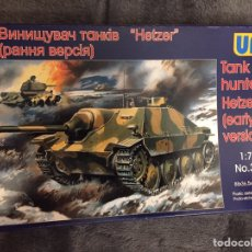 Maquetas: HETZER GERMAN TANK HUNTER 1:72 UM MODELS 352 MAQUETA CARRO. Lote 153474112