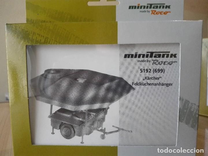 KIT REMOLQUE COCINA ,MINITANKS ROCO REF.5192(699) (Juguetes - Modelismo y Radiocontrol - Maquetas - Militar)